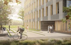 Ferrari Architectes Maison de l'Environnement Lausanne Lausanne, Ferrari, Urban Planning, Architects, Environment, Urban, Home