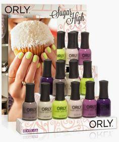 La nuova collezione di smalti #Orly - dolce come un #cupcake, colorata come un #macaron SUGAR HIGH è la nuova e attesissima collezione smalti Orly per la #Primavera 2015. A #palermo #laperladivenere #mondello #primavera 2014 al #top