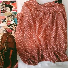 Dots Bohemian Dress Lining  100% polyester Great Condition  Waist Straps- Key Hole Back Forever 21 Dresses Long Sleeve