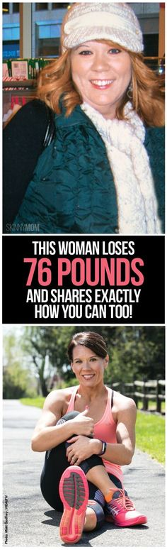 weight loss transformation story, woman loses 76 pounds