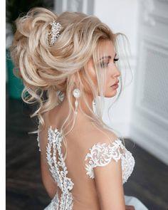 85 Elegant Wedding Hairstyles - Best Wedding Hairstyles for Bride 2019 Defying Gravity ---- You coul Elegant Wedding Hair, Wedding Hair And Makeup, Wedding Updo, Bridal Hair, Wedding Hairstyles Half Up Half Down, Wedding Hairstyles With Veil, Bride Hairstyles, Medium Long Hair, Medium Hair Styles