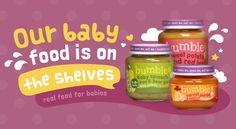 Our very own baby food range is available at selected Dischem stores in Gauteng, WC & Limpopo. Healthy, tasty, nutritious and moreish! Baby Spinach, Baby Food Recipes, Pear, Carrots, Salsa, Potatoes, Packaging, Tasty, Range
