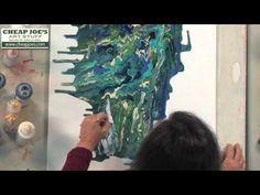 Fluid Acrylic Painting - YouTube