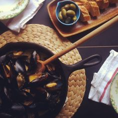 Fore Street Mussels from Joy the Baker.  Looks seriously delicious and I never would have thought to bake mussels!
