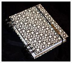 spiral-bound notebook