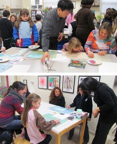 Acclaimed Artist Works with Richland Students..
