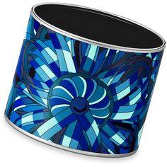 Enamel Jewelry Hermès Blue ($780) ❤ liked on Polyvore