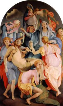 Entombment  Jacopo Pontormo 1525