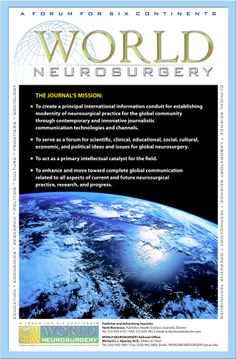 World neurosurgery [recurs electrònic] [New York, NY] : Elsevier, 2010-