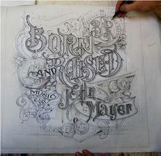 Letterology: Handmade Letterforms
