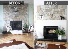 Attraktiv DIY Fireplace Mantle Facade