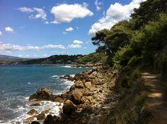 Coastal path, Saint-Cyr sur Mer