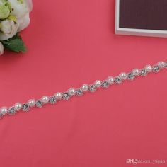 Bridal Sash Belt, Bridal Belt, Sash Belt, Wedding Dress Belt, Crystal Rhinestone Belt S71 Online with $29.31/Piece on Yupan's Store   DHgate.com