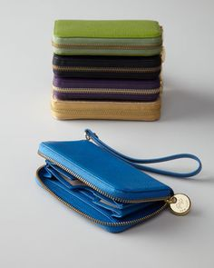 Goatskin Phone Wristlet by Graphic Image at Bergdorf Goodman.