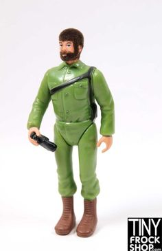 Barbie Worlds Smallest Mini GI Joe Action Soldier Doll with Binoculars! - MOVEABLE! NEW!