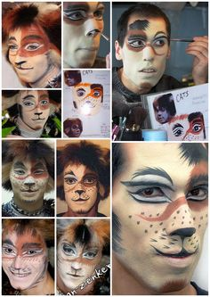 Cats makeup collages - Carbucketty