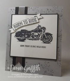 One Wild Ride Modified Z fold card video. (Dawns stamping thoughts Stampin'Up! Demonstrator Stamping Videos Stamp Workshop Classes Scissor Charms Paper Crafts)
