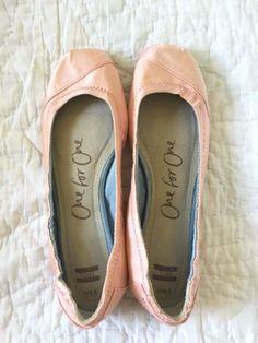 TOMS Shoes Women's Pink Grosgrain Ballet Flats 6.5 - New #Toms #BalletFlats   Supernatural Style