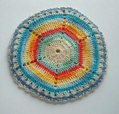 vintage sand dollar crochet • L2Country