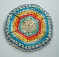 vintage sand dollar crochet • L2Country