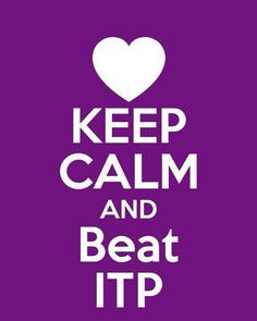 Keep Calm and Beat ITP