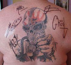 | 5FDP fan tattoos