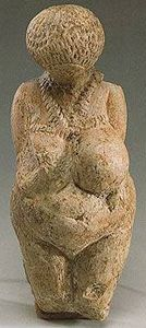 Limestone venus figurine (23,000 - 21,000 B.C.)