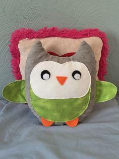 Minky Plush Owl