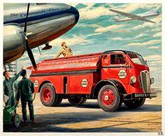 https://flic.kr/p/Tq9CM9   JOHN GOULD (American, 1906-1996). Refueling the Fleet  [R]