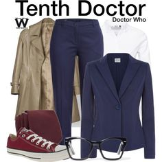 Inspired by David Tennant as the Tenth Doctor on Doctor Who.
