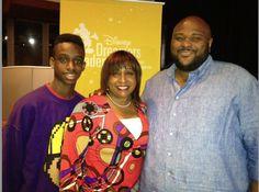 Shaila, her son and singer Ruben Studdard!