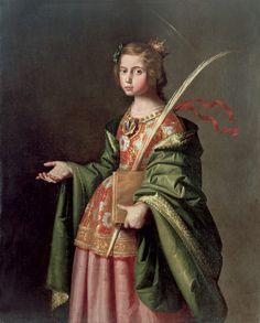 Santa Isabel de Hungría - Taller de Zurbarán