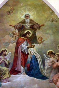 Rezemos o Santo Terço! Domingo MISTÉRIOS GLORIOSOS 1) Ressurreição de Jesus 2) Ascensão de Jesus 3) Descida do Espírito Santo 4) Assunção de Maria 5) Coroação de Maria