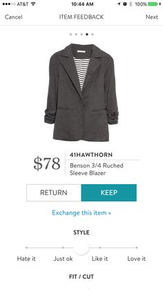 I love Stitch Fix! A personalized styling service and it's amazing!! Simply fill out a style profile with sizing and preferences. Then your very own stylist selects 5 pieces to send to you to try out at home. Keep what you love and return what you don't. Only a $20 fee which is also applied to anything you keep. Plus, if you keep all 5 pieces you get 25% off! Free shipping both ways. Schedule your first fix using the link below! #stitchfix @stitchfix. Stitchfix Spring 2016. Stitchfix Summer…