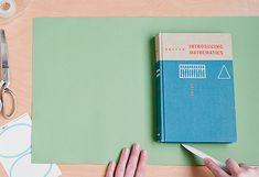 4 secrets to a carefully covered book // via design mom