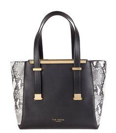 Nalini Leather Shopper Bag Handtassen Ted Baker. (€335,00)