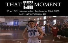 Awesome! OTH <3