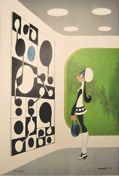 Chris Reccardi - 'Spaceport Op Art'
