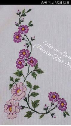 Crochet Stitches, Embroidery Stitches, Crochet Patterns, Baby Dress Pattern Free, Free Pattern, Cross Stitch Flowers, Kids Rugs, Diy, Cross Stitch Borders