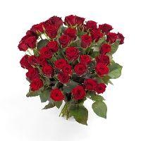 Rode bloemen! :-)