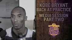 Lakers Practice: Kobe Bryant Injury News: Hints At Possibility Of Novemb...