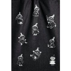 Ekelund Moomin Mys Black/White Tea Towel Ekelund