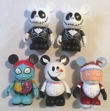 Lot Of 5 Disney Nightmare Before Christmas Vinylmation Figures Jack Sally Zero