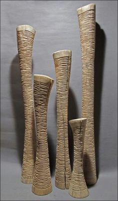 *Wood Scullptures by Benoît Averly Abstract Sculpture, Sculpture Art, Ceramic Pottery, Ceramic Art, Sculptures Céramiques, Pottery Sculpture, Contemporary Sculpture, Stone Sculpture, Wooden Art