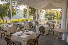 Enjoy The Beautiful Weather As You Dine At Our Scenic Outdoor Veranda.  Scenic   Hudson