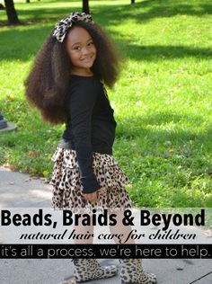 natural hair care tips for children