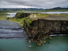 Iceland's Epic Landscapes from a Drone's-Eye View -- Dyrhólaey, South Iceland