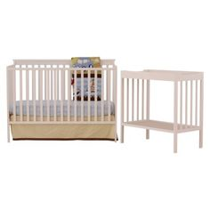 stork crib from target, $199, convertible, matching changing table available