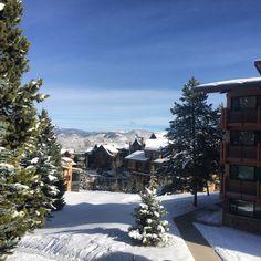 Looking good, #Snowmass Village! #colorado #bluesky