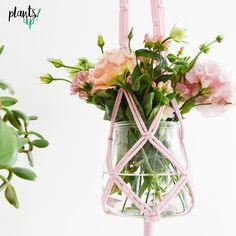 Kwietynka Peonia - makrama - plants_up - Dekoracje
